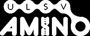 Logo van ULSV Amino in het wit